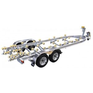 Dunbier Trailer - AS7.5M-14THE (3500KG)-Alloy Guards and Independent Suspension