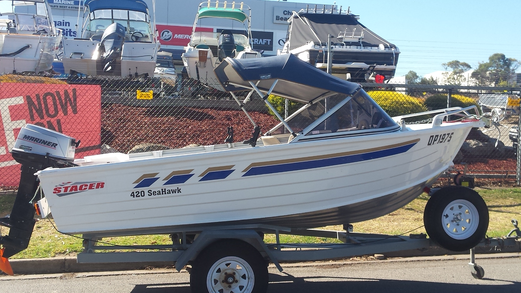 2003 Stacer  420 Seahawk