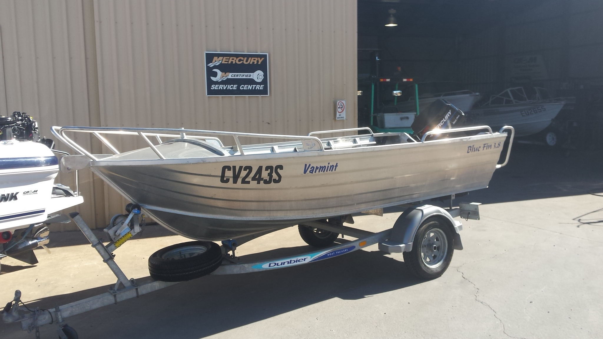 2012 Bluefin 380 Varmint Dinghy