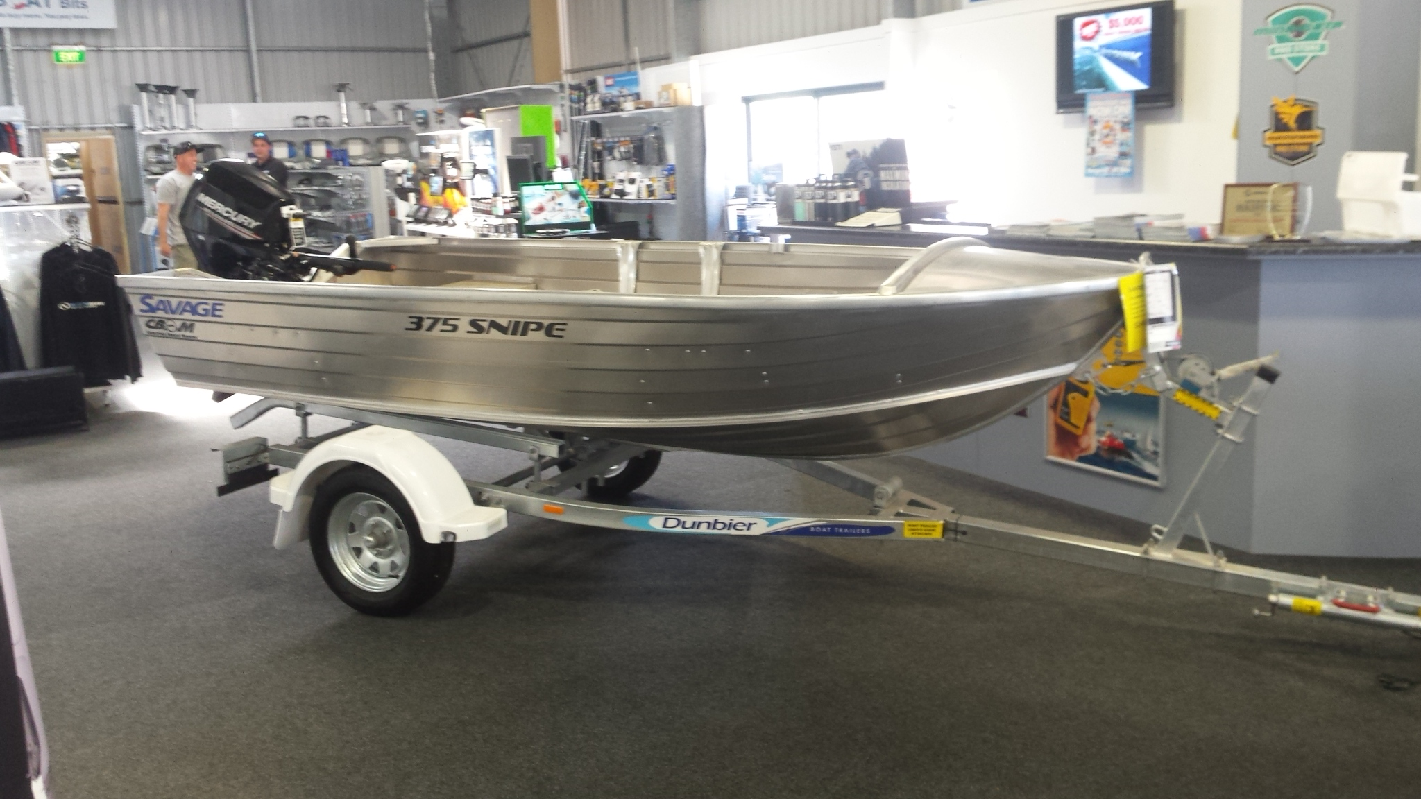 2019 Savage 375 Snipe Dinghy