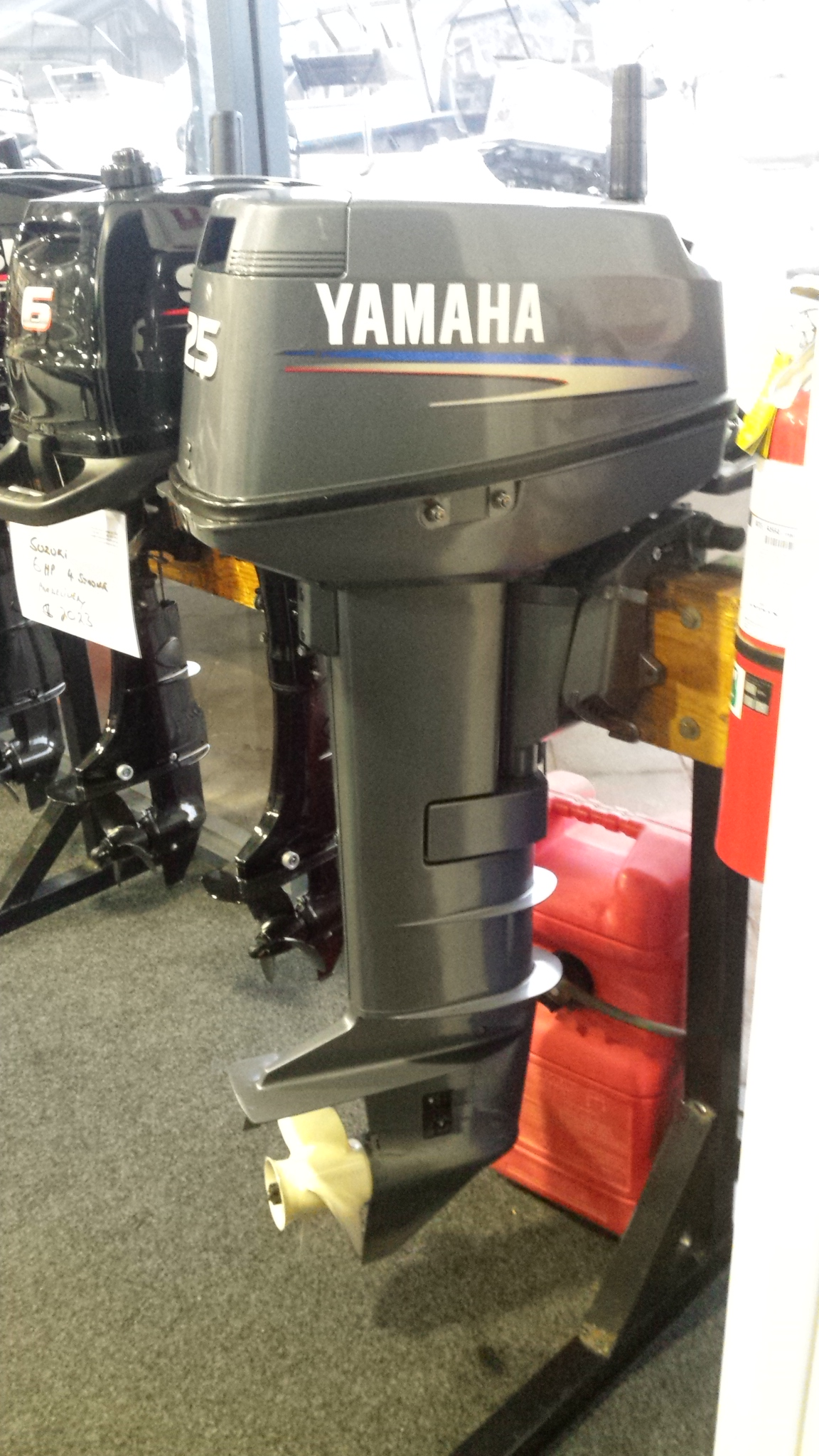 2010 Yamaha 25 Hp 2 Stroke Electric Start