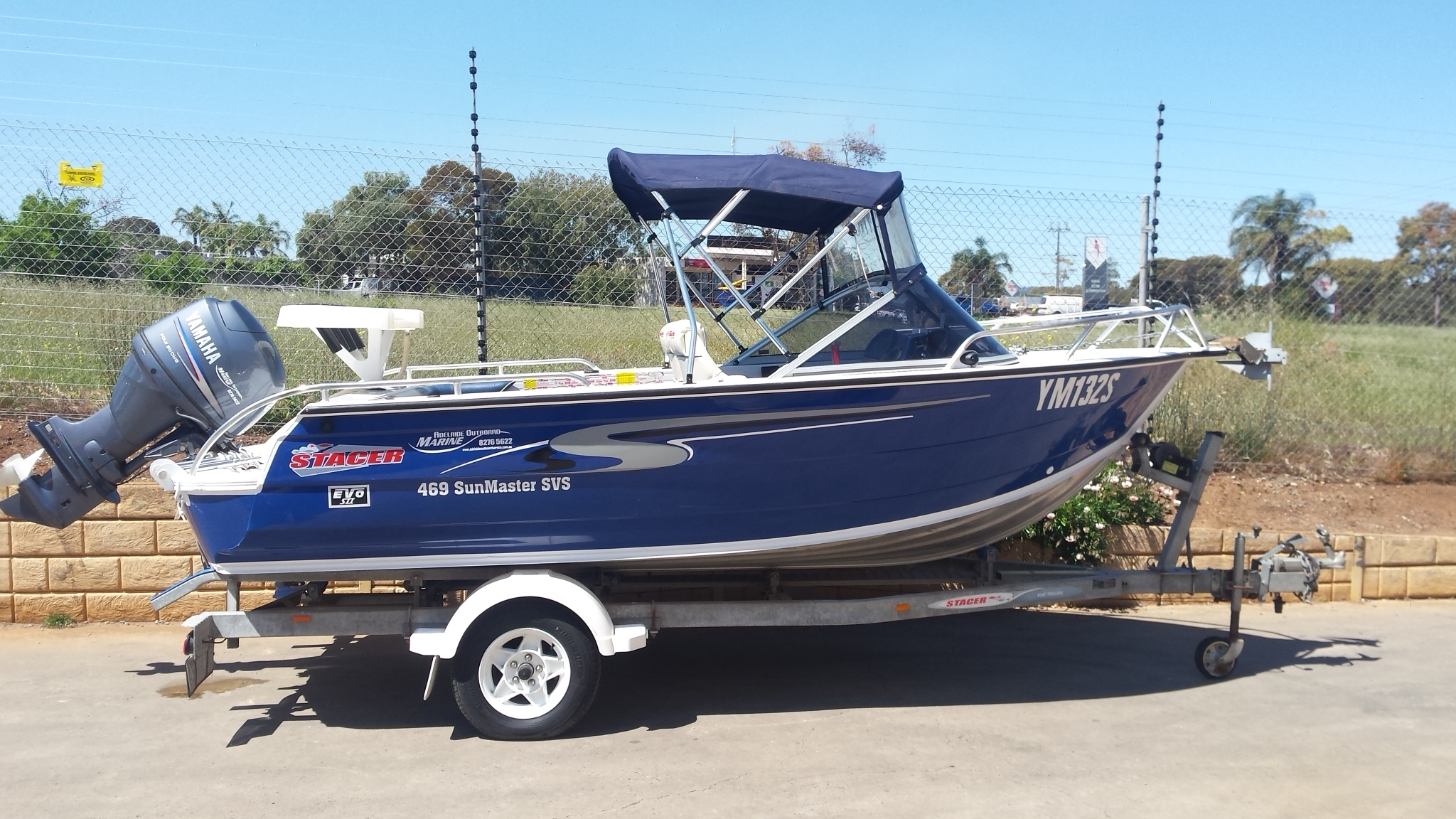 2008 Stacer 469 Sunmaster Runabout