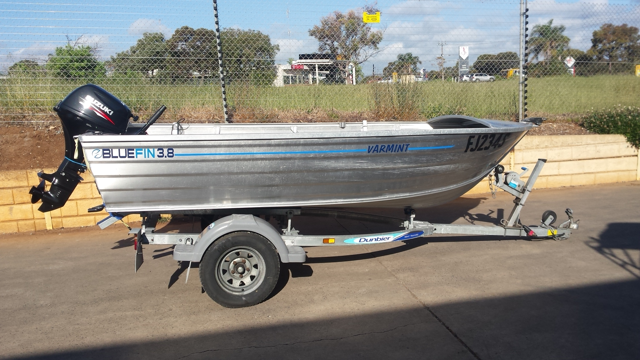 2013 Bluefin 380 Varmint Dinghy Package